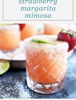 Pinterest image for margarita mimosa