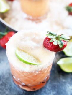 Strawberry margarita mimosa thumbnail image