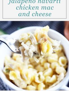 Havarti Mac and Cheese Pinterest image