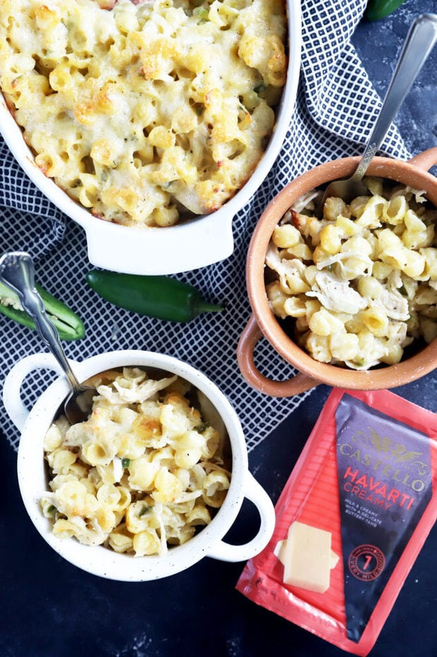 Castello mac and cheese in bowls image