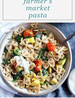 Farmer's Market Pasta Recipe Picture