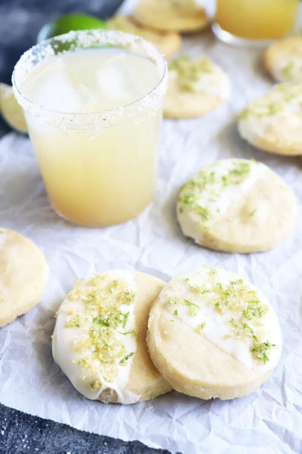 Shortbread margarita cookies image