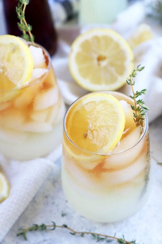 Arnold palmer mocktail drink recipe picture