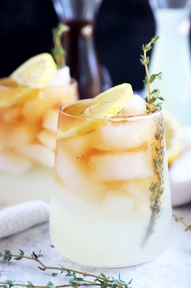 Sparkling arnold palmer drink picture