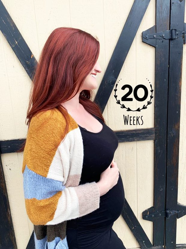 20 weeks with light exercise and fall