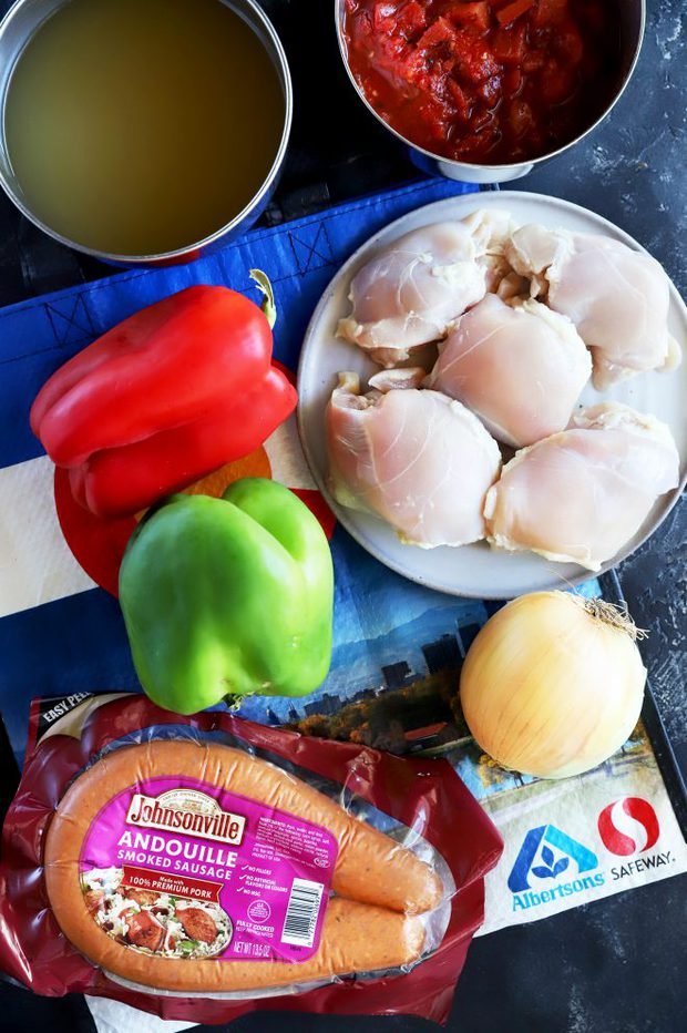 Ingredients photo of Instant Pot Creole Soup