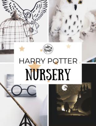 Harry Potter Nursery Pinterest Picture