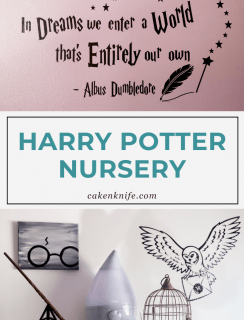 Harry Potter Nursery Pinterest Image