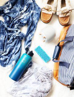 Hospital Bag Essentials Overhead Photo