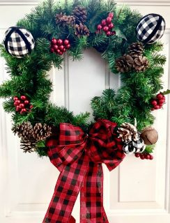 christmas decorations wreath picture