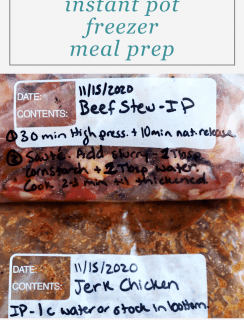 How I Do My Freezer Meal Prep Pinterest Image