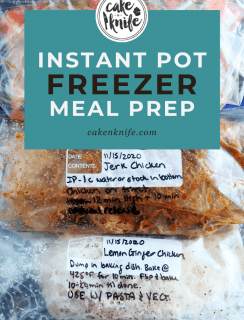 How I Do My Freezer Meal Prep Pinterest Graphic