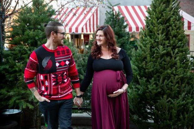Image of maternity couple