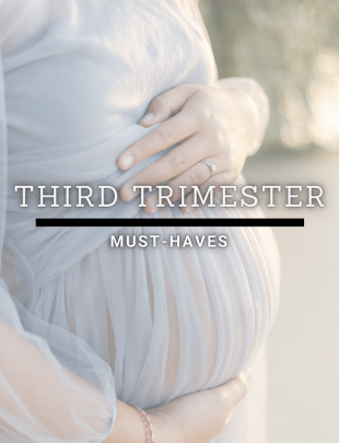Third Trimester Must-Haves Pinterest Image