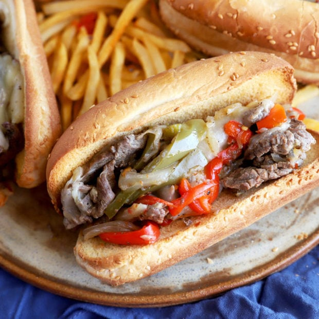 Instant Pot Philly Cheesesteaks picture thumbnail