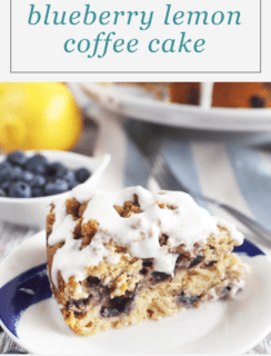 Blueberry Lemon Streusel Coffee Cake Pinterest Image