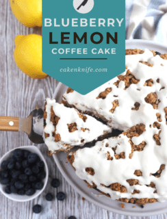 Blueberry Lemon Streusel Coffee Cake Pinterest Picture
