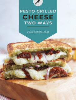 Pesto Grilled Cheese Two Ways Pinterest Picture