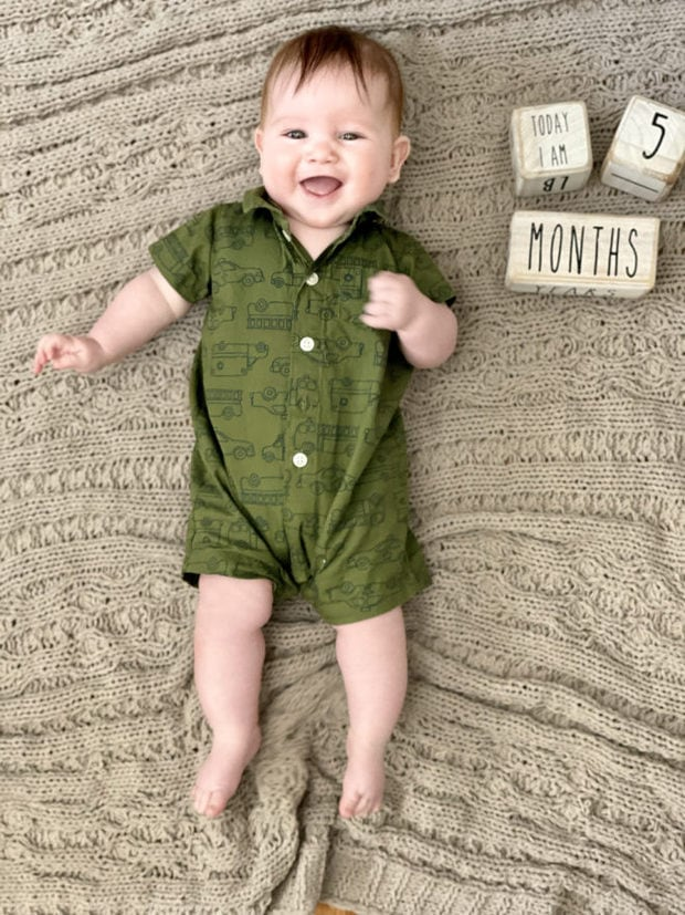 5 months old babycakes photo