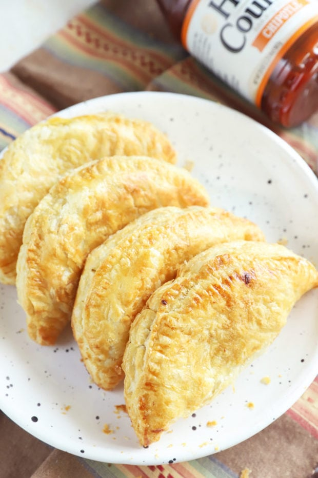 Empanadas on a plate picture