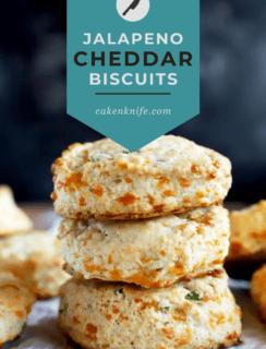 Jalapeno Cheddar Biscuits Pinterest Image
